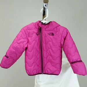 The North Face Baby Girls Reversible Puffer Jacket
